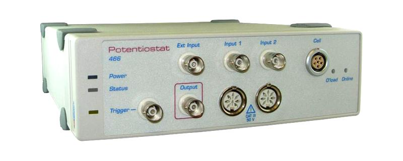 ER466 Integrated Potentiostat System includes Chart & Scope software
