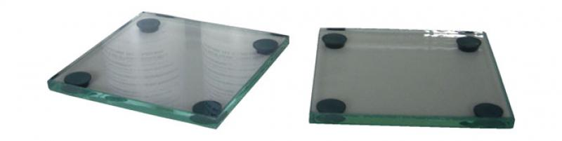 ET031-2 Pair of 85 mm Square Glass Plates