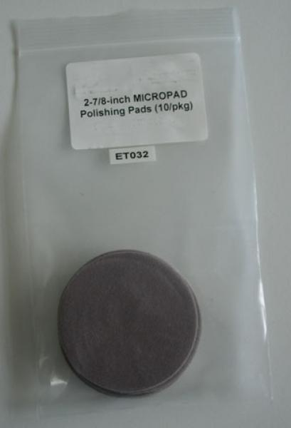 ET032 Micropad 2 polishing cloth