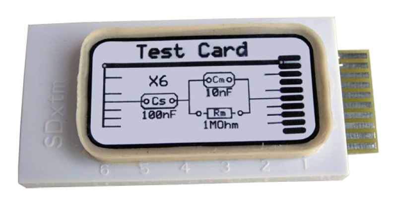 SDx-A2 tethaPod Test Card