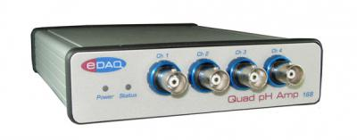 EU168 Quad pH Amp with USB