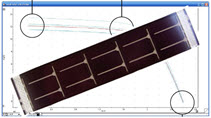 IV Curve of a Solar Cell in EChem Software